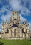 Coutances Cathedral, France Royalty Free Stock Images