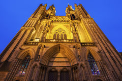 Coutances Cathedral Royalty Free Stock Photos