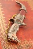 Couteau décoratif images stock