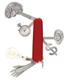 Couteau d'armée de corporation Image stock