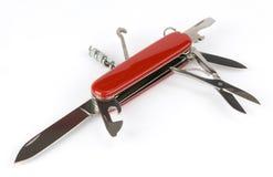 Couteau d'armée suisse Image stock