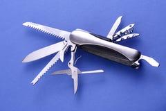 Couteau d'armée suisse photographie stock libre de droits