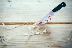 Couteau d'arme de meurtre photos libres de droits