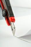 Couteau de bureau Image libre de droits