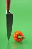 Couteau de cuisine Photographie stock