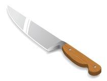 Couteau de cuisine de vecteur Photographie stock