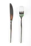 couteau de fourchette Photos stock