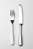 couteau de fourchette photo libre de droits