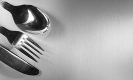 Couteau de fourchette de cuillère Photo libre de droits