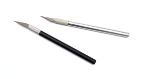 Couteau de métier d'Aluminim Photo stock