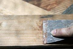 Couteau de mastic Photo stock