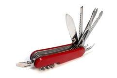Couteau de poche Images libres de droits