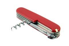 Couteau de poche suisse Image stock