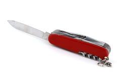 Couteau de poche usé Images libres de droits