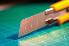 Couteau de service Photo libre de droits