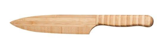 Couteau en bambou Images libres de droits