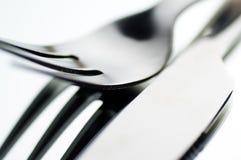 Couteau et fourchette Image libre de droits