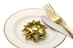 Couteau et fourchette. Images libres de droits