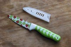 Couteau et gaine de cuisine photos stock