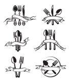 Couteau, fourchette et cuillère Image libre de droits