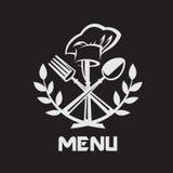 Couteau, fourchette et cuillère Photos stock