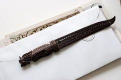 Couteau indien de papeterie Images stock