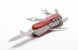 Couteau suisse se pliant Image libre de droits