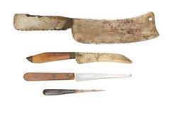Couteau usé Photographie stock libre de droits