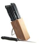 Couteaux de bifteck Image libre de droits