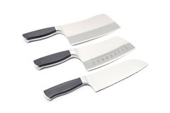 Couteaux de cuisine Photos stock