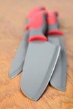 Couteaux de cuisine de teflon photographie stock