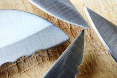 Couteaux, lames Photo libre de droits