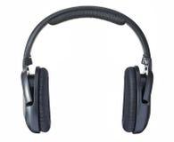 Écouteurs d'isolement Photos stock