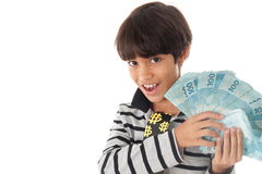 Couting Money Royalty Free Stock Image