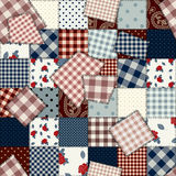 Coutry style patchwork Royalty Free Stock Photography