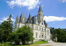 Coutryside Chateau Royalty Free Stock Photo