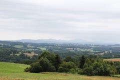 Coutryside d'Auvergne Image libre de droits