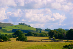 Coutryside de Yorkshire Images stock