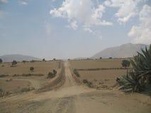 Coutryside em México Foto de Stock