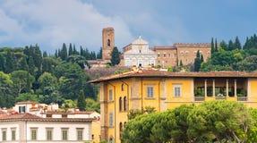 Coutryside en Florencia, Italia Fotografía de archivo libre de regalías