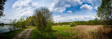 Coutryside Panorama Lizenzfreie Stockfotos