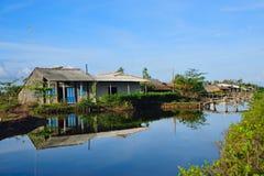 Coutryside van Vietnam Stock Afbeelding