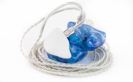 Coutume dans des moniteurs d'oreille image stock