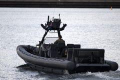 Coutumes australiennes et unité maritime de protection de frontière image libre de droits