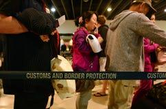 Coutumes et service de protection australiens de frontière Image stock