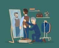 Couture à l'atelier Photographie stock