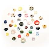 couture de boutons Photos libres de droits