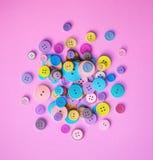 couture de boutons Photographie stock libre de droits