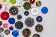 couture de boutons Image stock