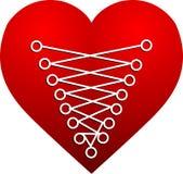Couture de coeur illustration libre de droits